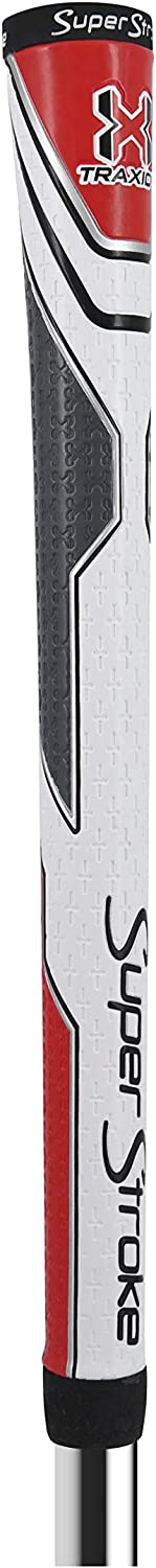 SuperStroke Traxion Tour Golf Club Grip | Advanced Surface Texture That Improves Feedback and Tack | Extreme Grip Provides Stability and Feedback | Even Hand Pressure