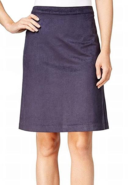 31f6b55e9 Tommy Hilfiger Womens Faux Suede Knee Length Straight Skirt at Amazon  Women's Clothing store: