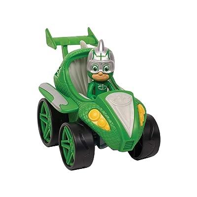 PJ Masks Power Racers- Gekko, Green: Toys & Games