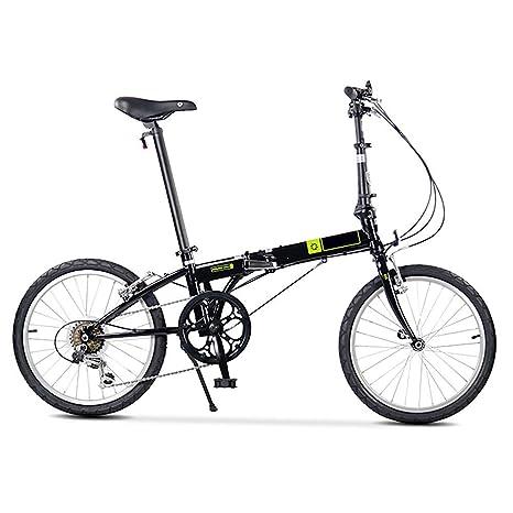 BANGL B Bicicleta Plegable Cambio de Choque Absorción ...
