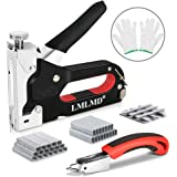 Staple Gun Set Heavy Duty & 1800 Staple Selection Pack & Staple Remover,Ideal for Home Work & DIY Crafts
