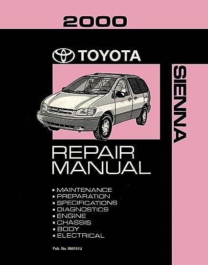 amazon com bishko automotive literature 2000 toyota sienna shop rh amazon com Toyota Sienna Repair Online 2004 Toyota Sienna