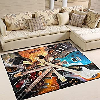 Amazon Com Rugs 4 Less Collection Fun Musical Theme