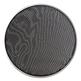 BQLZR 268mm Diameter Black Double Ply Mesh Silent Drum Head Drum Skins Percussion Accessories for 10nch Drum Kit Set