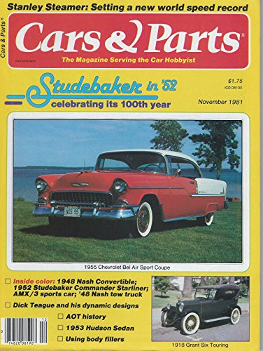 - Cars and Parts - The Magazine Serving Car Hobbyist; November 1981; Volume 24, Number 11 --- Dodge the Early Sixes --- 1932 Frontenac Rs Coupe --- 1940 Cadillac 62 Touring Sedan