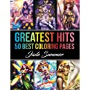 Greatest Hits: An Adult Coloring Book with our 50 Best Coloring Pages (Perfect Gift for Coloring Book Fans)