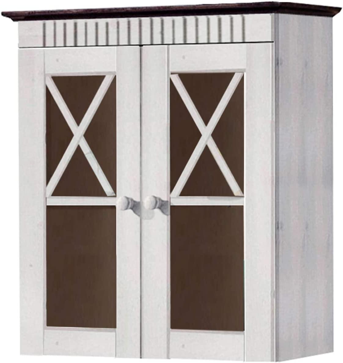 Loft24 Hangeschrank Kuche Badezimmer Wandschrank Oberschrank