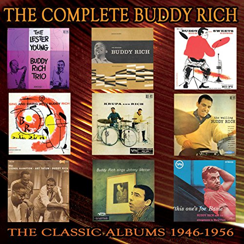 Complete Buddy Rich: 1946-1956 (5CD Box Set) ()