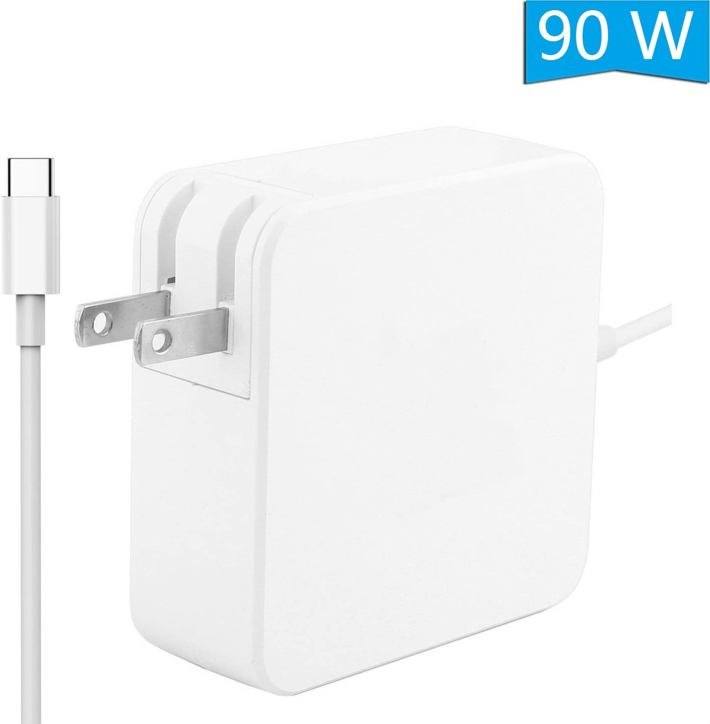 Allink 87W USB C Type C Wall Charger PD Charger with Travel Foldable Plug for MacBook 2015/2016/MacBook Pro 12