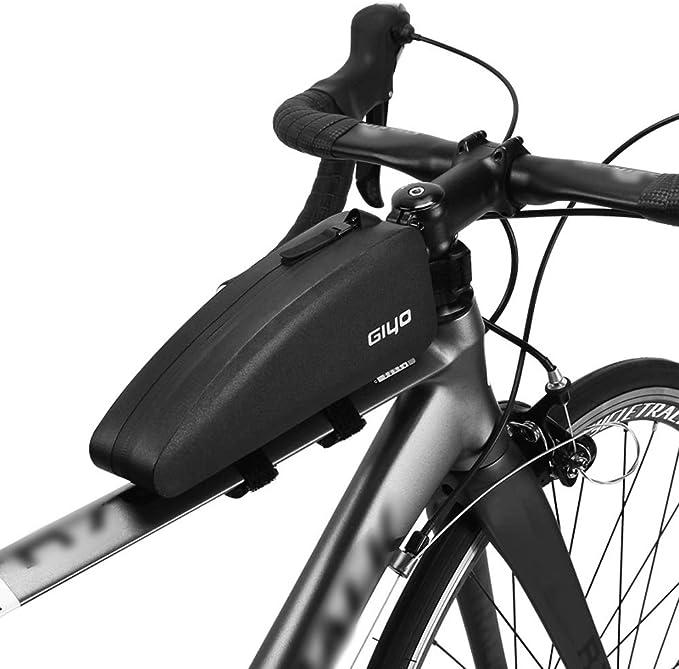 Lixada Bolsa Bicicleta Cuadro Impermeable Bolsa Triangular Ligero Gran Capacidad Bolsa de Tubo de Bicicleta: Amazon.es: Deportes y aire libre
