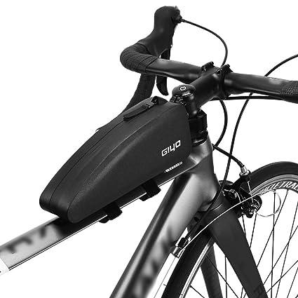 Lixada Bolsa Bicicleta Cuadro Impermeable Bolsa Triangular Ligero Gran Capacidad Bolsa de Tubo de Bicicleta