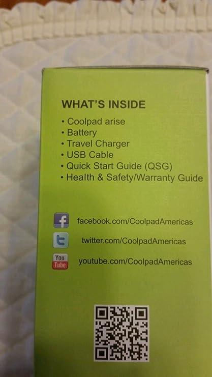 Sprint Coolpad Snap Manual