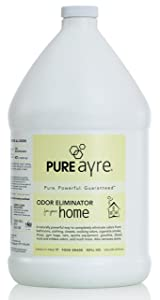 PureAyre – All-Natural Plant-Based Home Odor Eliminator – Pure, Powerful, and Completely Safe – 1 Gallon