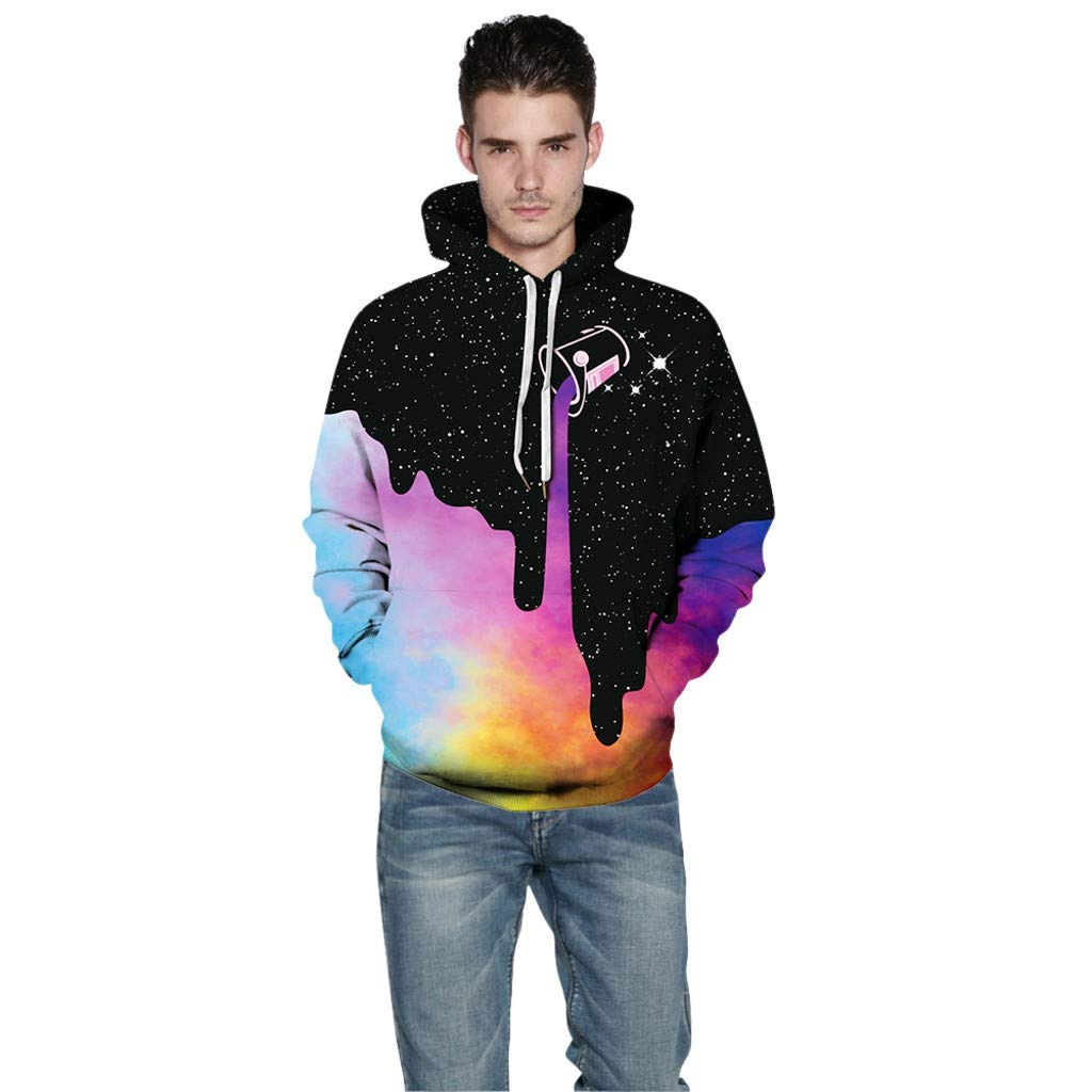 Unisex AcisuHu Pullover Hoodie Funny Pattern Hooded Sweatshirts Pockets for Teens Jumpers Couple