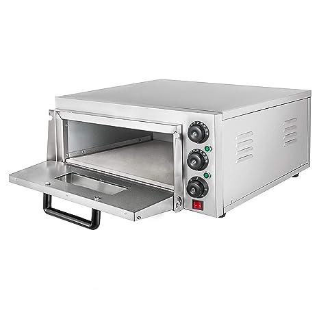 Summile WY1-2 - Horno eléctrico para pizza (3 kW, 220 V, 350 °C ...