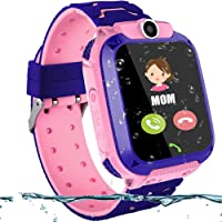 Waterproof Smart Watch Children Digital Wristwatch Baby Watch Phone For IOS Android Kids Toy Gift with 1.44 inch Touch…