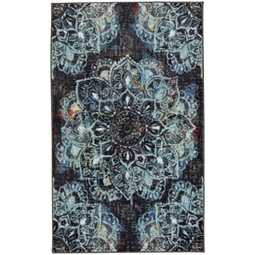 Shaw Rugs Indian Rug (Mohawk Home Aurora Mandala Area Rug, Beautifully Boho Chic (7'6x10'))