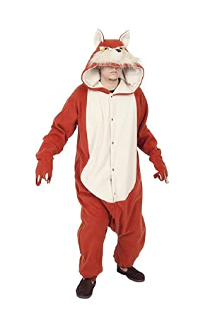 OvedcRay Adult Red Fox Costume Forest Zoo Animal Pajamas Foxy Costumes Mens Womens  sc 1 st  Amazon.com & Amazon.com: OvedcRay Adult Red Fox Costume Forest Zoo Animal Pajamas ...