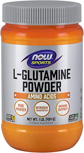 NOW Foods Sports L-Glutamine Powder — 1 lb