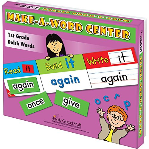Really Good Stuff Make-A-Word Center: 1st Grade Dolch Words