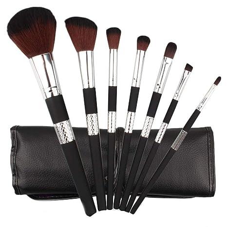 7pcs Cosmetic Makeup Brush Blusher Eye Shadow Brushes Set ...