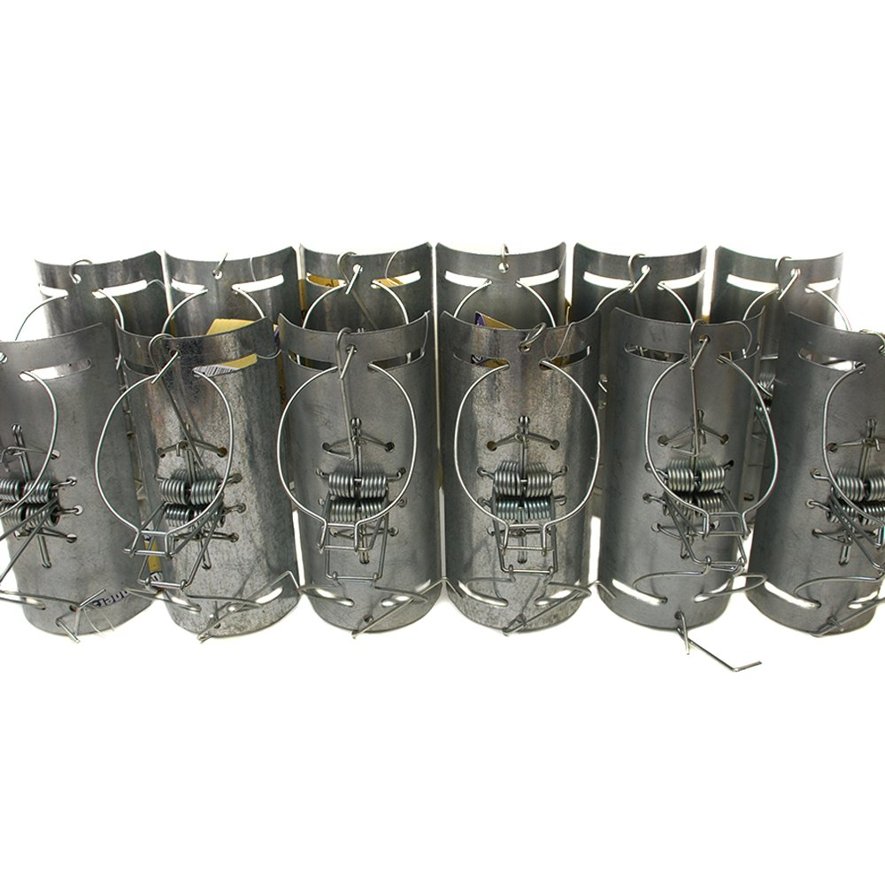 Defenders STV152M Mole Tunnel Traps - Silver (Pack of 12) STV International
