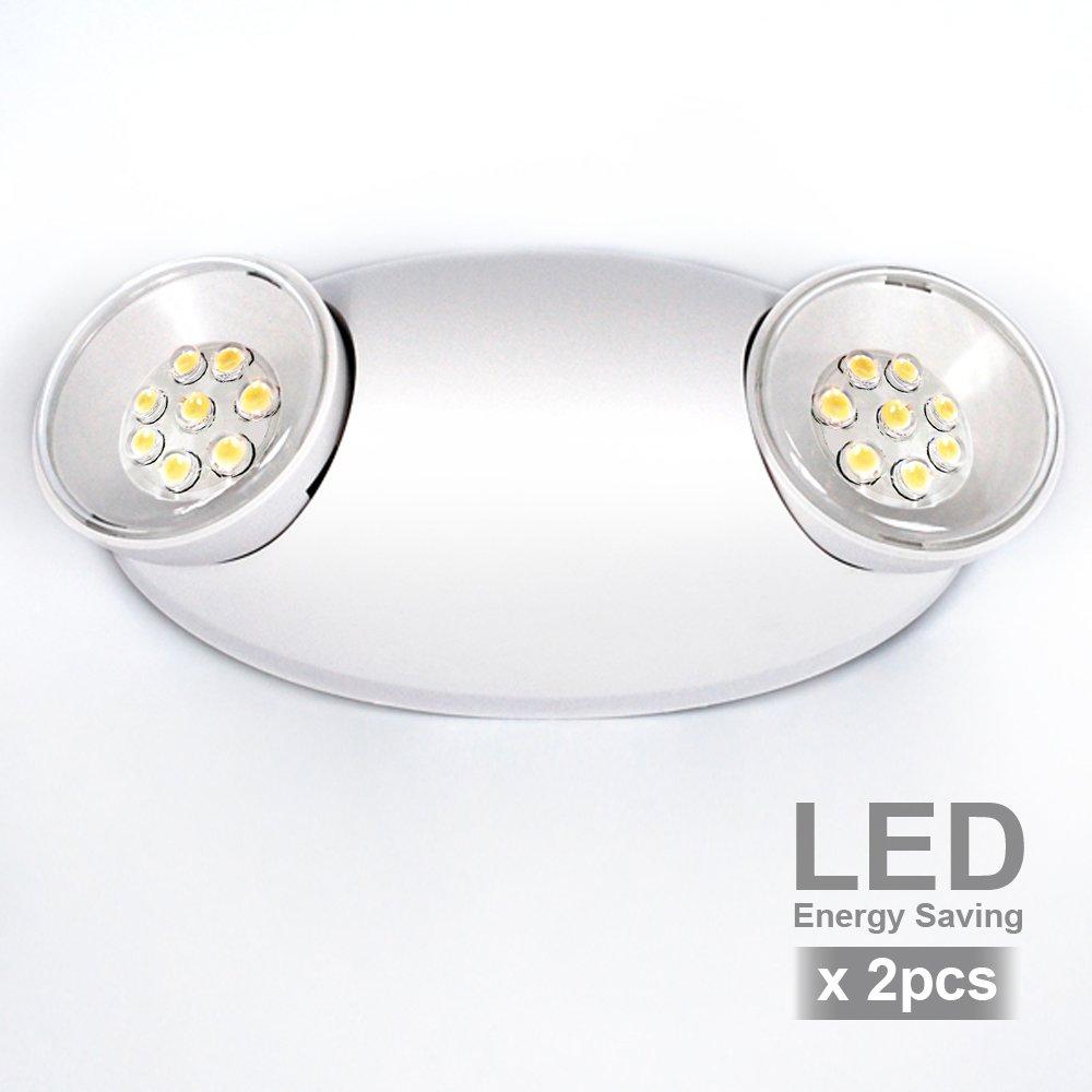 eTopLighting Emergency Exit Light Standard LED Bug Eye Head LED Spot Light, EL5SB-2