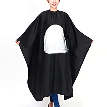 Haircutting Waterproof Cape Salon Hairdressing Gown Barber Hair Dyeing Apron