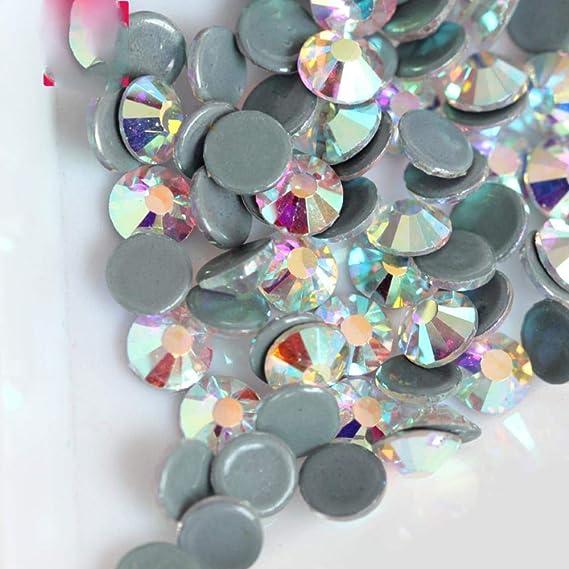 Diamantes de imitación para ropa de alta calidad SS12 SS16 SS20 SS30 cristal piedra Y2792 SS8 1440pcs: Amazon.es: Hogar