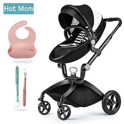 Caliente mamá Upgraded limitado versión paseo 2017, 3 en 1 bebé sistema de viaje Cochecito