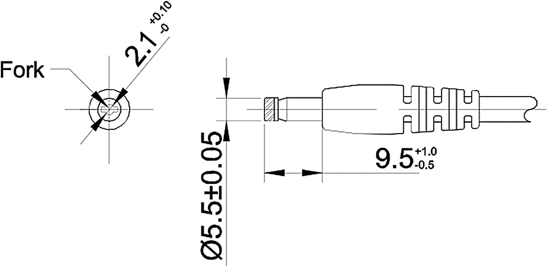 Adaptateur 2 p/ôles 12V 2A Poppstar DC 12V 6A, 5,5x2,1mm m//w Bloc dalimentation Variateur PWM