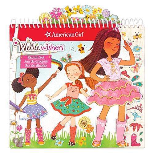American Girl 99001 Wellie Wisher Fashion Sketch Set