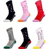 GuaziV Mens Womens Cycling Socks Running Socks Athletic Socks Ankle Sport Socks 6-11
