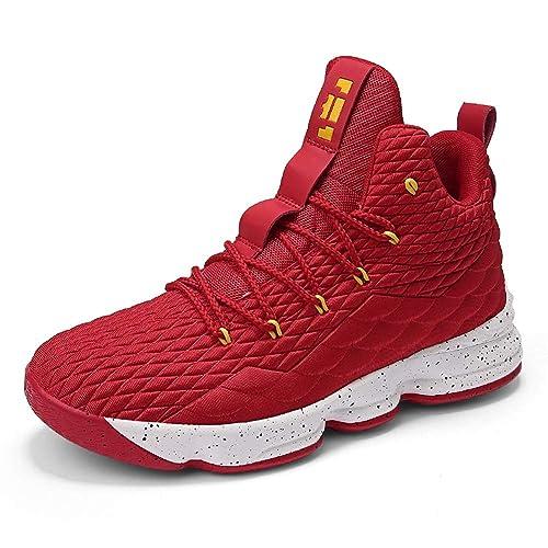 sports shoes 77357 6836f Basketball Herren Schuhe Outdoor Sneakers Turnschuhe Sportschuhe  Wanderschuhe rutschfest Footwear Schwarz Rot Champagner Hellgrün 36-46