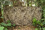 Auscamotek 300D Durable Camo Netting for Duck Hunting Blinds Brown 5ft×10ft/5ft×13ft/5ft×20ft
