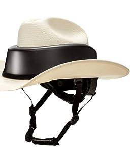 988b1e56535 Amazon.com   Resistol RideSafe Western Hat Helmet   Sports   Outdoors