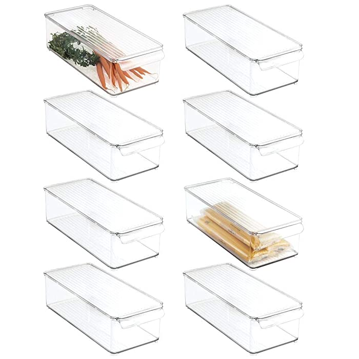 The Best Clear Plastic Food Storage Bins With Lids