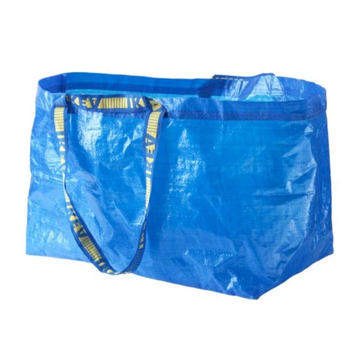 Ikea Bolsas Grandes Azul Frakta x 5 Ideal Para Uso Exterior Y Almacenaje Carga Máx 25 Kgs: Amazon.es: Industria, empresas y ciencia
