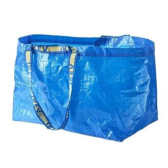 Ikea Bolsas Grandes Azul Frakta x 5 Ideal Para Uso Exterior Y Almacenaje Carga Máx 25 Kgs