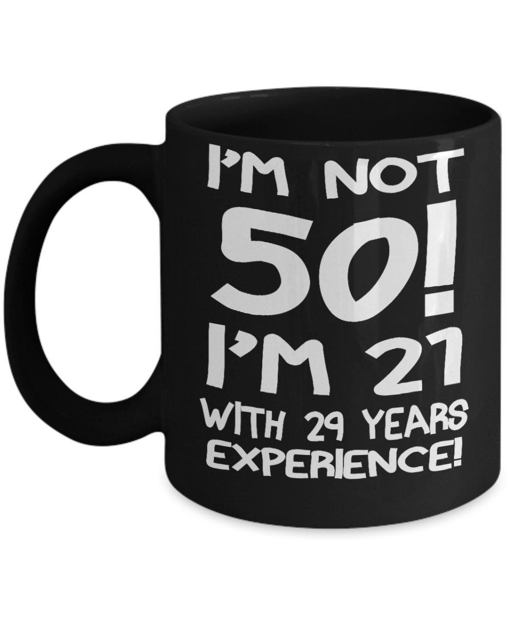 Amazon.com: No soy de 50. Soy 21 con 29 años de experiencia ...
