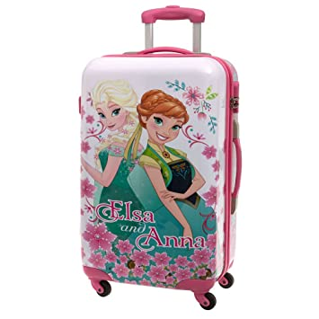 Frozen Fever Maleta Mediana Rígida, Color Rosa, 53 litros: Amazon.es: Equipaje