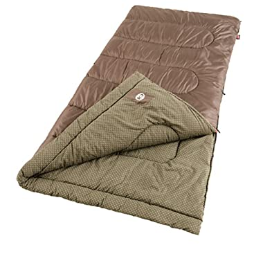Coleman Oak Point Cool-Weather Big and Tall Sleeping Bag