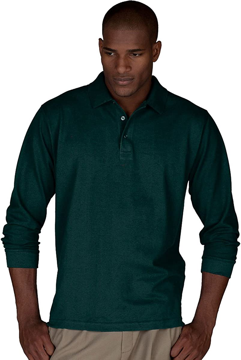 Edwards Garment Mens Big and Tall Wrinkle Resistant Polo Shirt