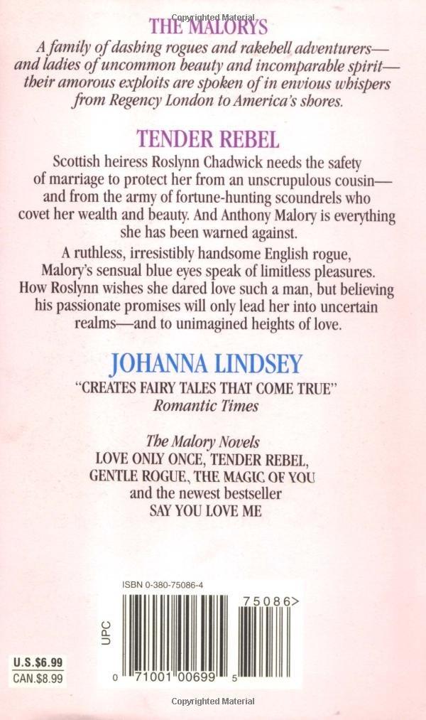 Tender Rebel Johanna Lindsey Pdf