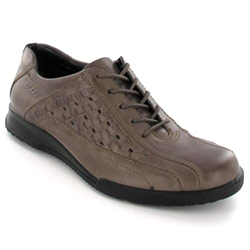 42d0948883b1 ECCO Men s Lace-Up Flats brown dark clay  Amazon.co.uk  Shoes   Bags