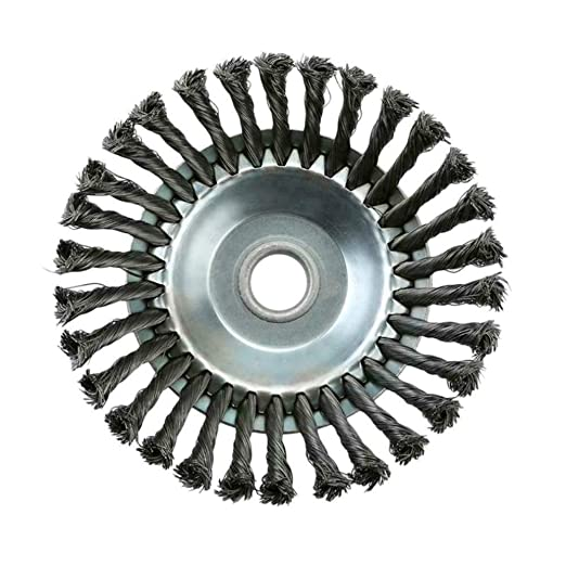Alambre de la rueda de malezas desbrozadora Diámetro 25 mm ...
