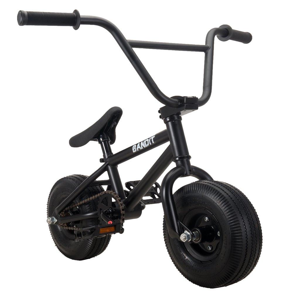 RayGar Bandit - Mini bicicleta BMX - Negro