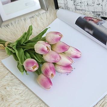 Amazon Com Artificial Flowers Vibola 10pcs Floral Real Touch