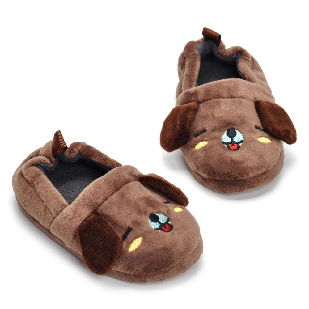 Boys Girls,/ Kid Baby Boys Girls Cartoon Animal Indoor Warm Slipper Soft Sole Casual/ Shoes,