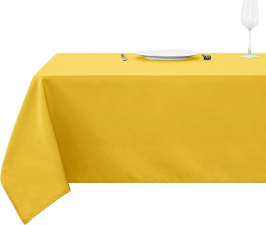 4x Assortiment Couleur Facile à Nettoyer Nappe rectangulaire pour matériel de haute qualité
